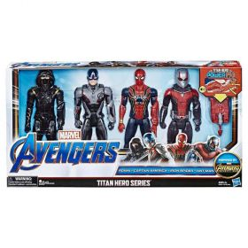 Marvel Avengers Titan Hero Going Subatomic 4-Pack FX Figures