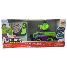 Marvel Super Hero Adventures Hulk Remote Control Tank