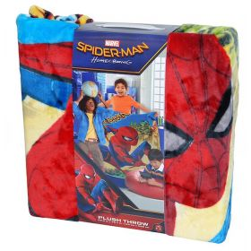 MARVEL Spiderman Plush Throw 150cm x 200cm