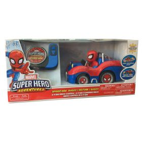 Marvel Super Hero Adventures Spider Man Remote Control Car