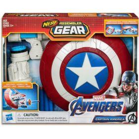 Marvel Avengers Nerf Assembler Gear Captain America