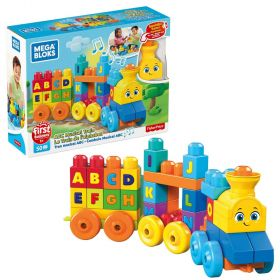Mega Bloks First Builders ABC Musical Train Construction Set
