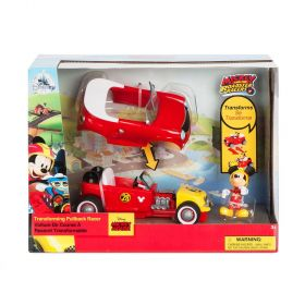 Mickey Mouse Transforming Pullback Racer