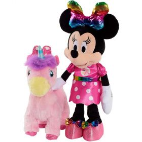 Minnie Mouse Walk and Dance Unicorn Doll Set