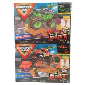 Monster Jam Kinetic Dirt Deluxe Playset
