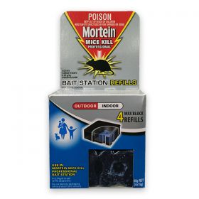 Mortein PK4 Mice Kill Professional Bait Station Refill