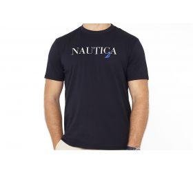 NAUTICA J Class Graphic T-shirt Navy Blue-L
