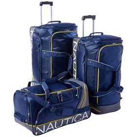 Nautica City Coaster 3 Piece Duffle Bag