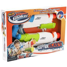 Nerf Super Soaker Scatter Blaster - 2 Pack