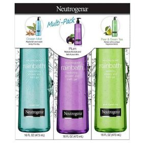 Neutrogena Rainbath Shower and Bath Gel Multi-Pack Of 3
