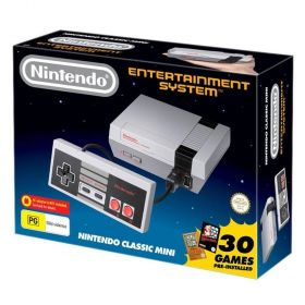 Nintendo NES Classic Edition Mini Console 30 Games Pre-Installed