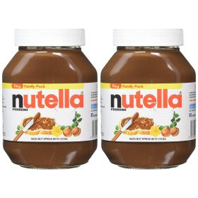 2 x Nutella Hazelnut Spread With Cocoa 1Kg Bulk pack
