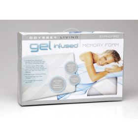 Odyssey Living Gel Infused Memory Foam Pillow