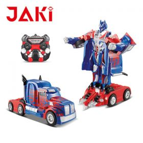 Optimus Prime Series Robot Convertible Truck Toy – R/C Remote Control