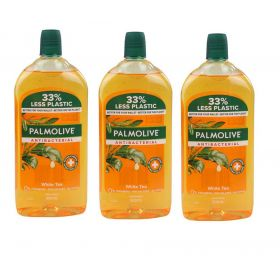 Palmolive Antibacterial Liquid Hand Wash Refill 500ml 3 Pack
