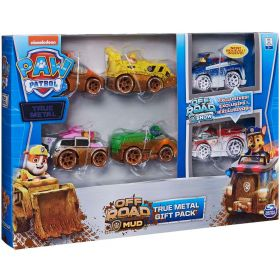 Paw Patrol Off Road Mud True Metal Classic Gift Pack