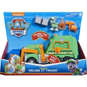PAW Patrol Rocky's Reuse It Truck with Figure and 3 Tools