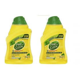 2 X Pine O Cleen All In One Disinfectant Gel Lemon 400ml