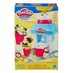 Play Doh Kitchen Creations Popcorn Party Play Food Set