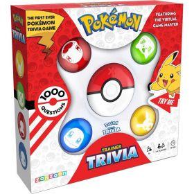 Pokemon Trainer Electronic Trivia Game
