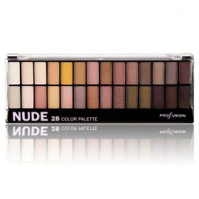Profusion 28 Color EyeShadow Palette Nude
