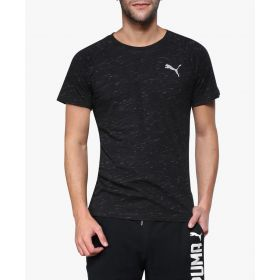 Puma Evostripe Spaceknit T-Shirt – Black