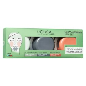 Loreal 3 Pure Clays Multi-Masking Face Mask Play Kit 3 x 10 ml