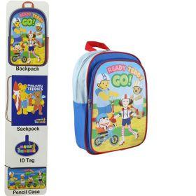 Ready Teddy Go 4 Piece Backpack Set