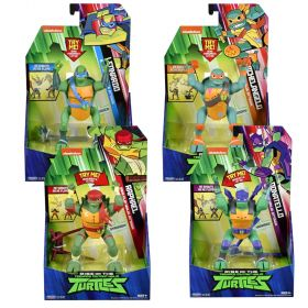 Rise of the TMNT Deluxe Action Figures Assorted