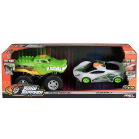 Road Rippers Wheelie Monster Crocodile Truck and Color Wheels