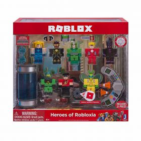 Roblox Heroes of Robloxia Action Figure 21 Pieces Pack
