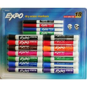 Whiteboard Markers 18 EXPO Dry Erase