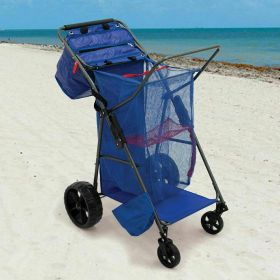 Rio Beach Wonder Wheeler Wide Beach Cart