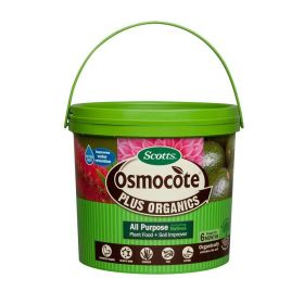 Scotts Osmocote 8Kg Plus Organics All Purpose including Natives Plant Food & Soil Improver
