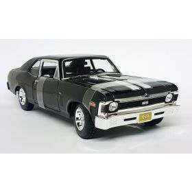 Maisto 1/18 Scale 1970 Chevrolet nova ss coupe Black