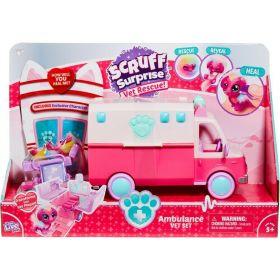 Little Live Pets Scruff Surprise Ambulance Playset