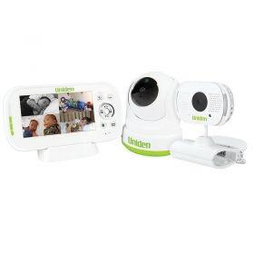 "Uniden BW3451R +1 Wireless Digital Baby Watch 4.3"" Monitor Remote 2 x Cameras"
