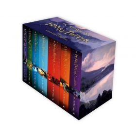 Harry Potter The Complete Collection 7 BookSet Collection J.K. Rowling