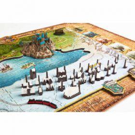 Harry Potter Wizarding World 4D Puzzle 892 Piece Set