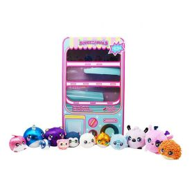 Squeezamals 12 Piece Vending Machine Collection
