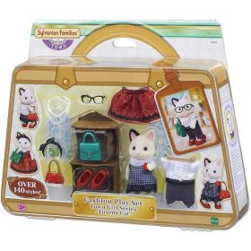 Sylvanian Families Tuxedo Cat Fashion Play Set