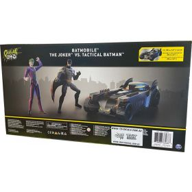 The Caped Crusader Batmobile Tactical Batman VS The Joker Playset