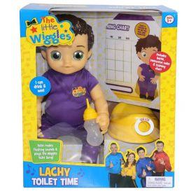 The Wiggles Lachy Wiggle Toilet Time Interactive Potty
