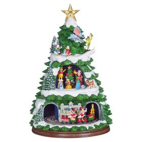 The Wonderful World of Disney Animated Christmas Tree With Music
