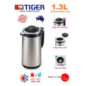 TIGER Vacuum Thermos Hot Water Coffee Jug Flask 1.3L