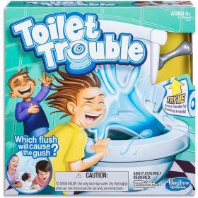 Toilet Trouble Kids Board Games