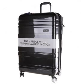 Tosca Prism Hardside Spinner built in weight Travel Luggage 29 inch