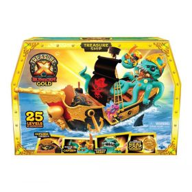 Treasure X Sunken Gold Treasure Ship Playset