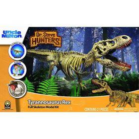 Uncle Milton Dr Steve Hunters Tyrannosaurus Rex Full Skeleton Model Kit