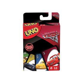 Uno Cars 3 Card Game